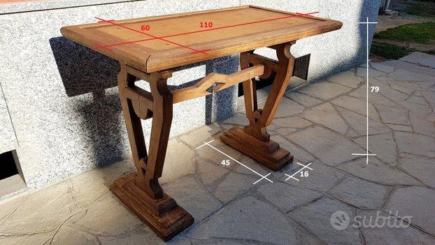 Vecchio tavolo fratino ani 40/50 da restaurare