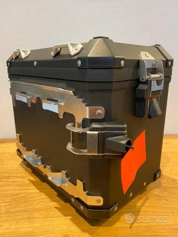 Valigia laterale BMW MOTORRAD in alluminio nera