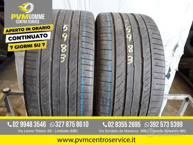 Gomme usate 245 40 17 91w continental
