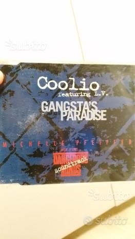 COOLIO cd singolo GANGSTA'S PARADISE 1995