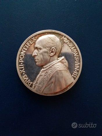 Vaticano 1941 Medaglia annuale ufficiale argento