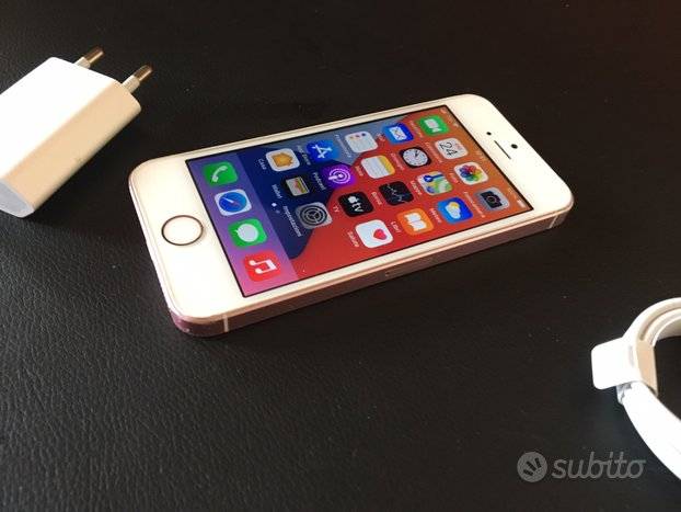 IPhone SE Gold Rose iOs 14