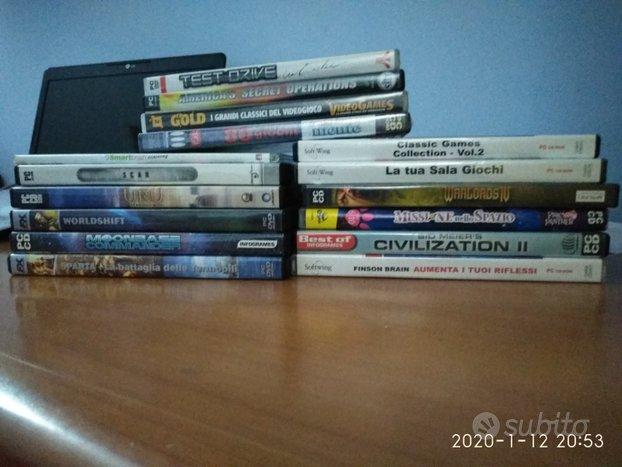 16 giochi in CD ROM per computer euro 20