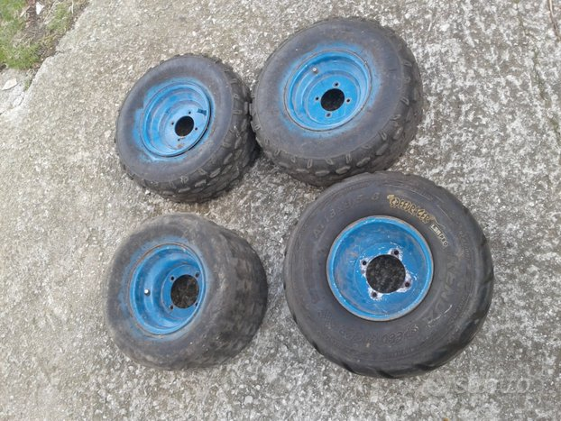Cerchi quad wt motors 150 usati