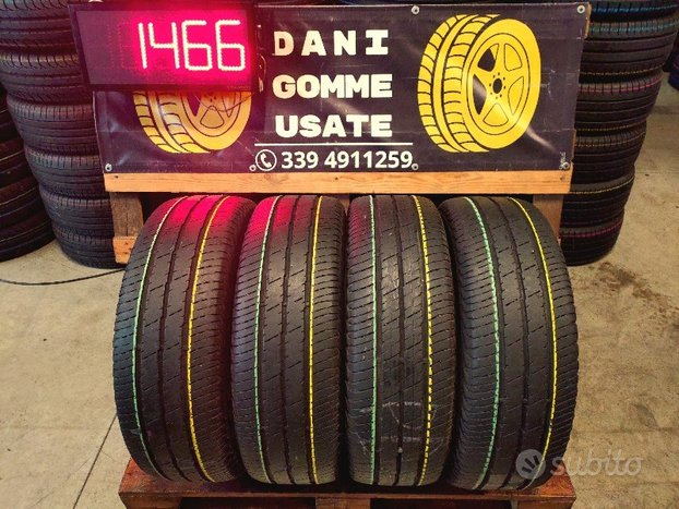 4 Gomme Usate 215 65 16C ESTIVE 80% CONTINENTAL