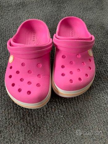 Crocs fuxia bambina