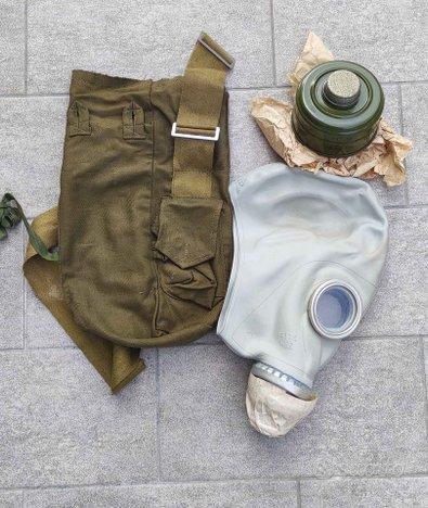 Maschera antigas esercito russo vintage militaria