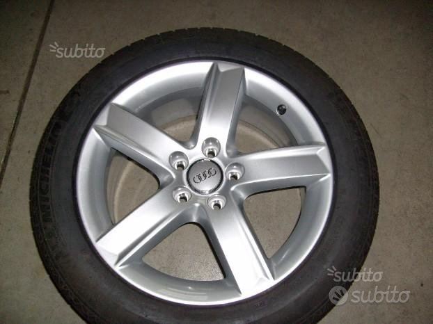 4 cerchi in lega originali Audi A4/A6 Allroad comp