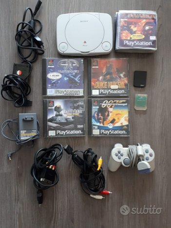 Consolle playstation 1 giochi