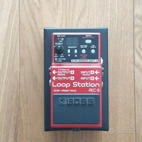 Loop station Boss Rc3
