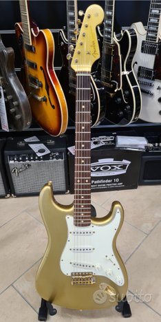 FENDER 50th ANNIVERSARY '60 STRAT Relic GOLD METAL