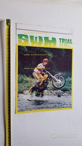 SWM catalogo moto Trial 50-80 1979 depliant