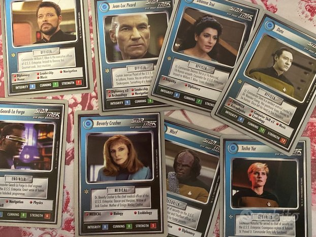 Star trek CCG limited edition collectors Tin