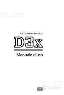 Nikon Libretto D3 D3s D3x D40 D40x D50 D60 D70 70s