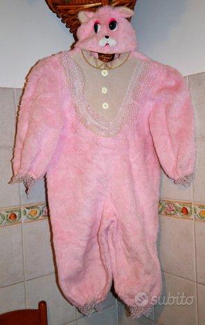 VESTITO DI CARNEVALE Coniglio rosa