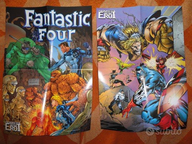 Poster:Rinascita d. Eroi/Marvel:3 pz+ Hulk e Devil