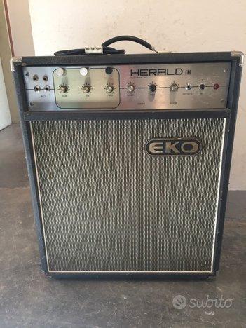 EKO HERALD III AMPLIFICATORE VALVOLE per chitarra