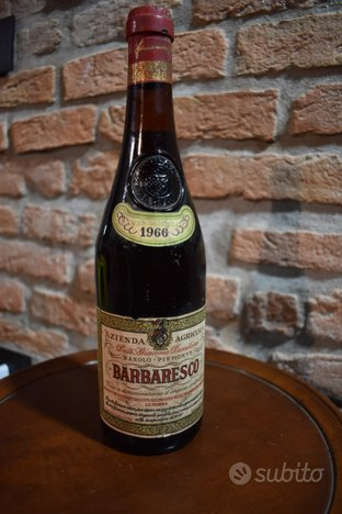 Lotto n6 bott Barbaresco Amarone vini vintage