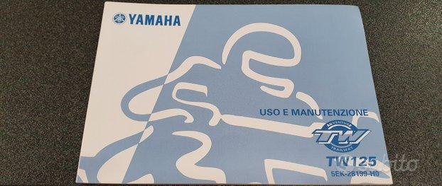 Uso e manutenzione manuale yamaha tw 125