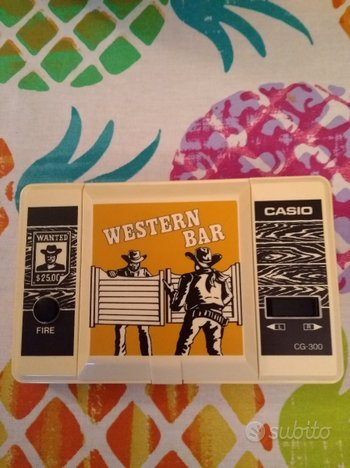 Casio Western Bar