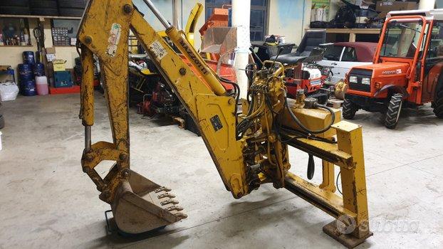 Retroescavatore trattore mazzotti maf 280