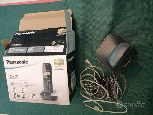 Telefono cordless digitale panasonic