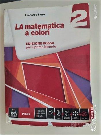 La matematica a colori 2 Rossa 9788849419085