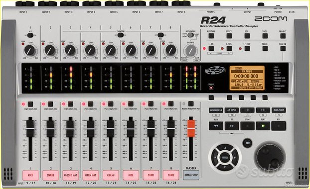 ZOOM R24 Registratore digitale multitraccia