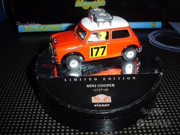 SCX Slot car Mini Cooper vintage N. 177 60730
