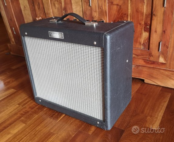 Fender Blues Junior made in USA, valvole vintage (