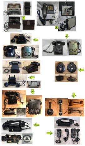 Telefono militare Funke Huster Germany Fatme