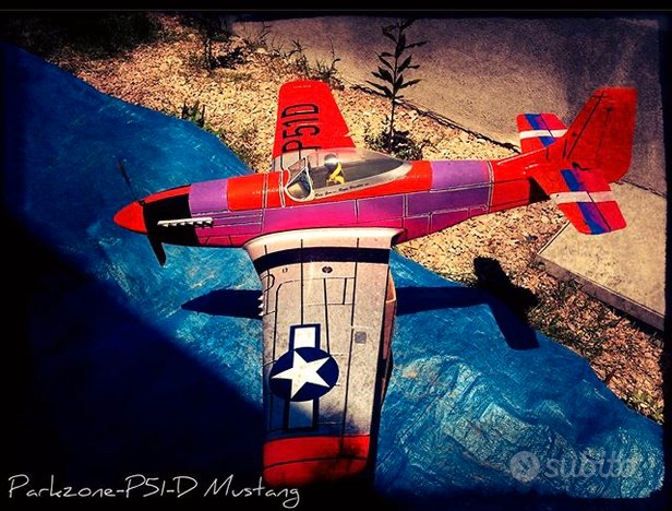 Aereo rc Parkzone P-51 Mustang