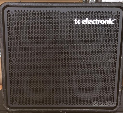 Cassa x ampl. tc electronic rs 410