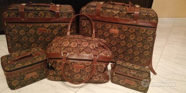 Set valigie 5 pezzi usate davvero poco