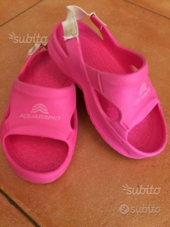 Ciabatte da piscina rosa n 23