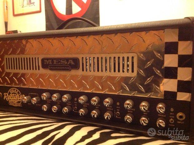 Mesa boogie dual rectifier 100w