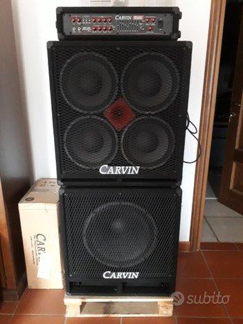 Amplificatore completo per Basso Carvin R600