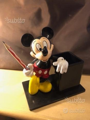 DISNEY portapenne Mikey in composito Vintage 90