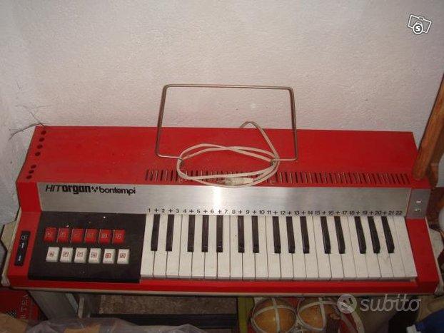 Pianola elettronica bontempi