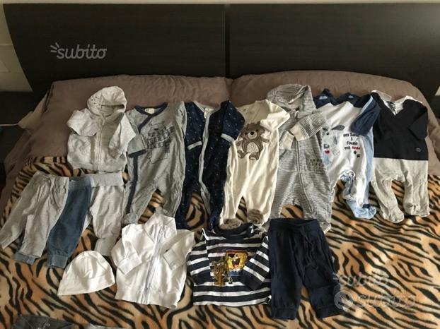 Abbigliamento invernale bimbo 2-4mesi