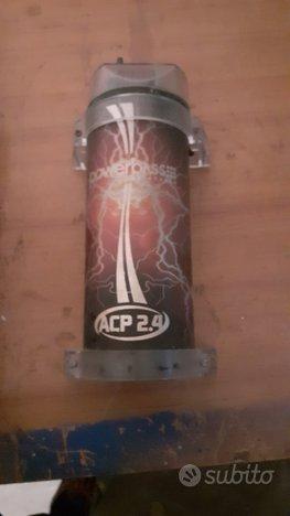 Condensatore 2.4 farad