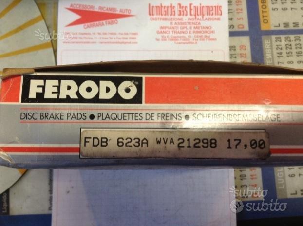 Pastiglie Freno Peugeot 605