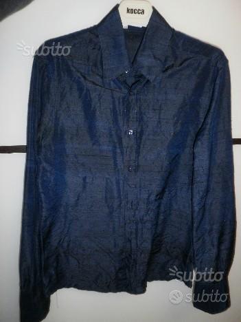 Lotto 4 camicie uomo Nara Camicie taglia xs seta