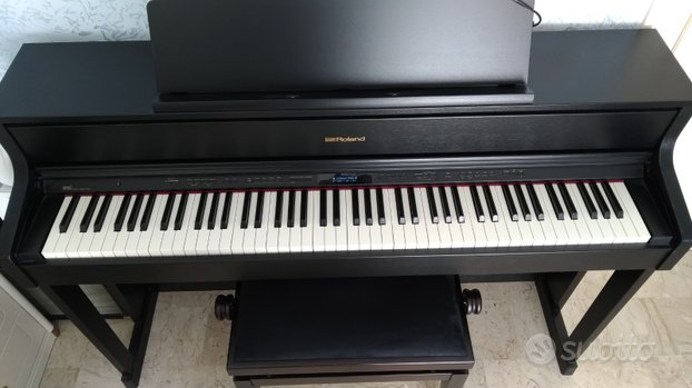 Pianoforte digitale Roland HP605