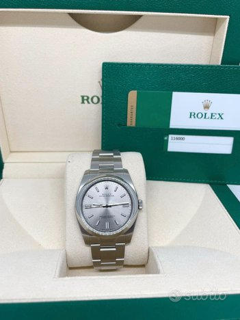 Rolex Oyster Perpetual 36mm ref. 116000 NOS 2018