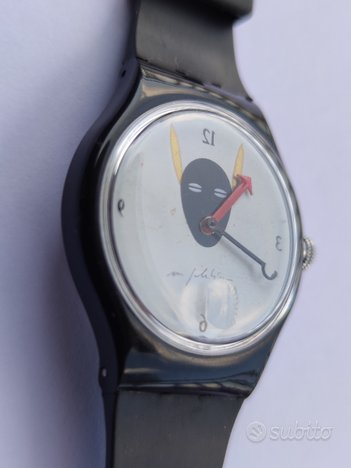 Swatch automatic conversion mimmo paladino