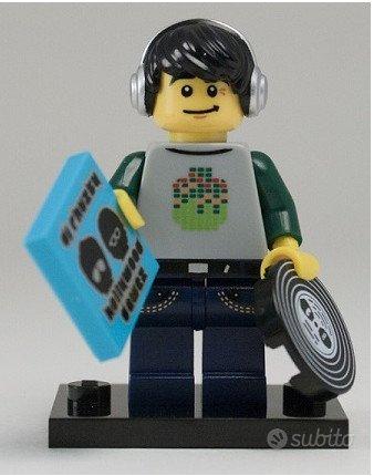 Lego minifigures Serie 8 DJ