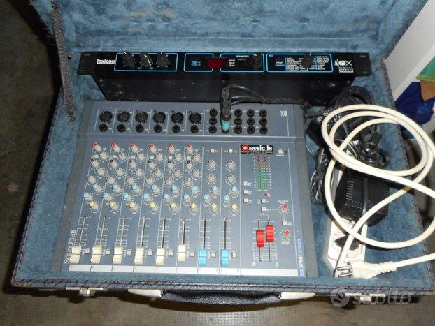 Mixer Soundcraft Spirit Folio più Lexicon digital