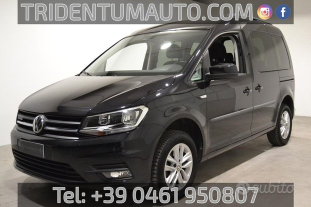 Volkswagen Caddy IV Caddy 1.4 tgi 110cv Plus E6