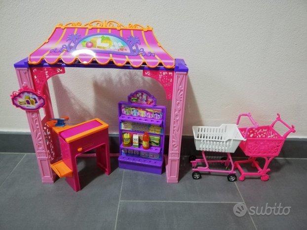 Set supermarket Barbie